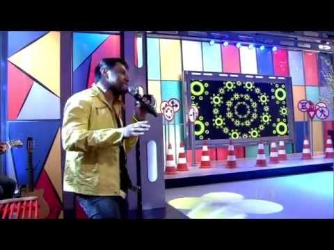 Pablo do Arrocha cantando Fui Fiel no Encontro com Fátima Bernardes