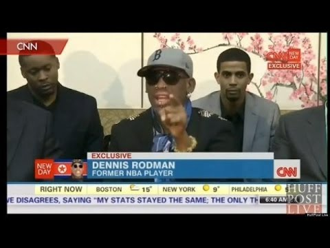 Dennis Rodman's Crazy CNN Meltdown Over North Korea
