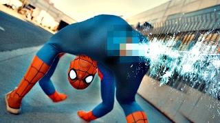 Anatomicky správny Spiderman
