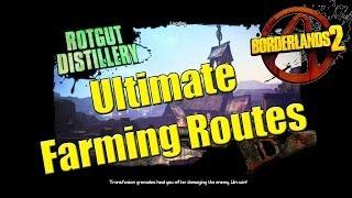 Borderlands 2 Ultimate Farming Routes Rotgut