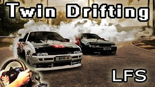 Twin Drifting Session (online Multiplayer, Live For