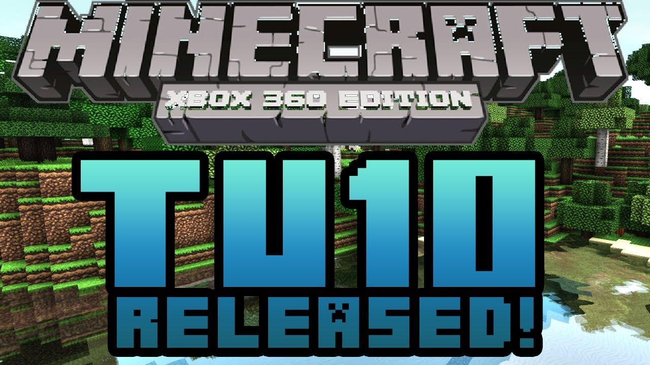 Minecraft Xbox 360 - New TU10 (Title Update 10) Update ...