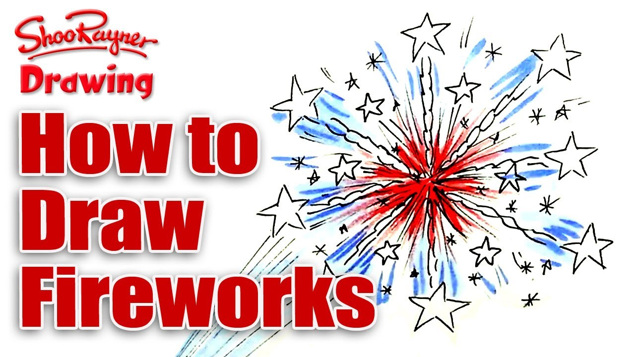 how to draw chinese firecrackers