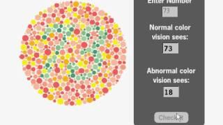 בדיקת ראייה מפחיד