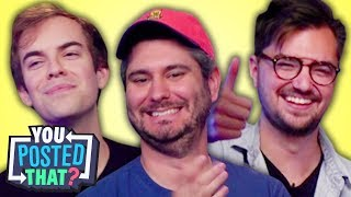 h3h3, Jacksfilms, and Elliott Morgan | You Posted That?