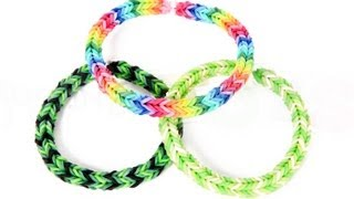 How To Make A Three Pin Fishtail Rainbow Loom Bracelet