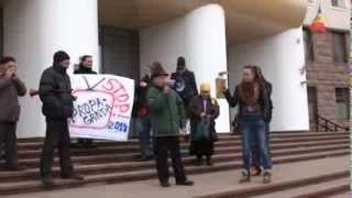 Protest Hyde Park la Parlament contra rusificării media