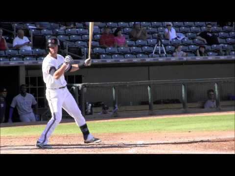 Mitch Haniger, Milwaukee Brewers OF Prospect (2013 Arizona Fall League)