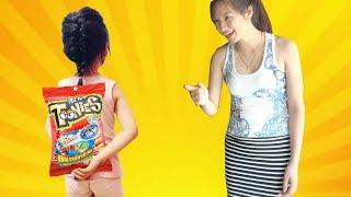 Bé Dâu Tây Ăn Vụng BIM BIM 🤣 Johny Johny Yes Papa Kid Song ♥ Dâu Tây Channel