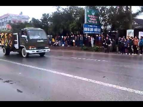 Người dân Thái Bình tiễn đưa Thượng tướng Phạm Quý Ngọ về với đất mẹ