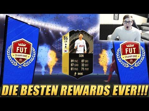 FIFA 18: OMG INFORM SON IM PACK!! MEINE BESTEN FUT CHAMPIONS REWARDS!🤑😱🔥 - 89+ TOTGS PACK OPENING!