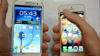 IPhone 5 Vs Samsung Galaxy S 3 (speed Comparison