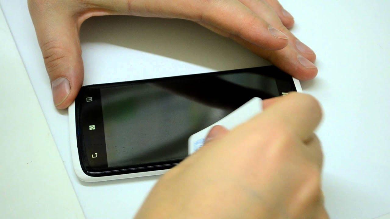 Как сделать пленку на смартфон