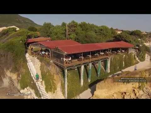 project corfu video Prasoudi Corfu  Aerial Video HD