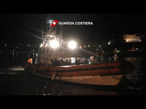 Dozens dead in migrant boat disaster near Italy