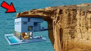 Top 10 Riskiest Houses In The World!
