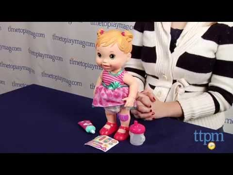Baby Alive Baby Gets A Boo Boo From Hasbro Youtube