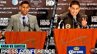 Amir Khan Vs Danny Garcia Final Press Conference