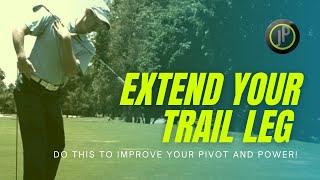 Golf Swing Drills To Improve Pivot Motion Straighten