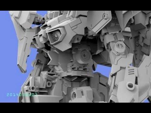 Mechanicore 1/100 MAS-15 Zerstore [Xi Gundam] WIP Part 2