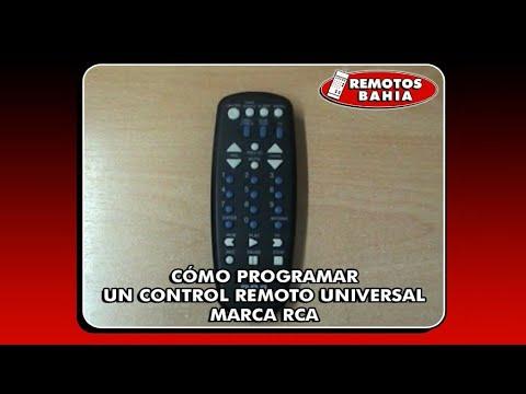 CÓMO PROGRAMAR UN CONTROL REMOTO UNIVERSAL RCA RCU404 REMOTOS BAHIA ...