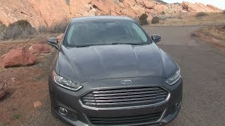 2014 Ford Fusion Energi Chilly Drive And Review