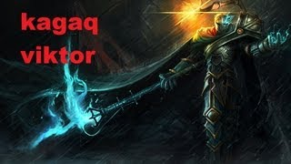 League of Legends gameplay pl VIKTOR VS TALON Kagaq