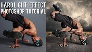 Adobe Photoshop'da Hard Light Efekt - (PSD Box)