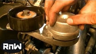 How To Remove And Replace A Serpentine Belt Tensioner