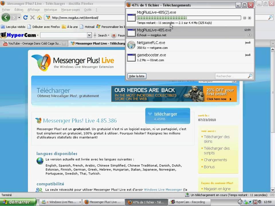 Windows Live Messenger 2009 Plus Live Msn Messenger Plus Live