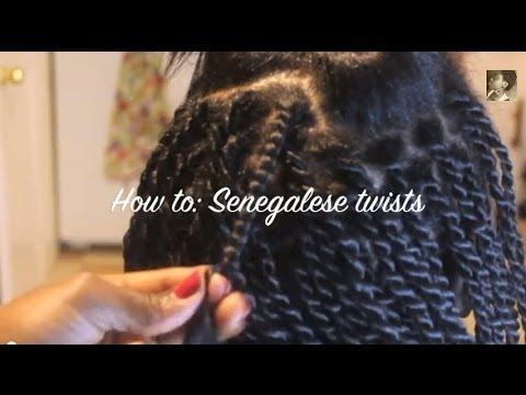 Twist From The Root Senegalese Twists On Relaxed Hair