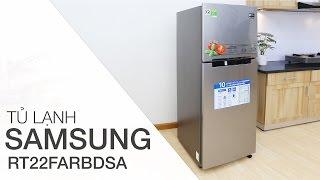Đánh giá tủ lạnh Samsung 234 lít RT22FARBDSA | Điện máy XANH