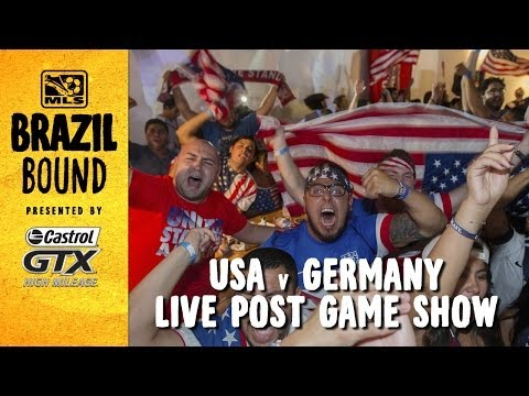 LIVE: USA vs. Germany Postgame Show | Brazil Bound