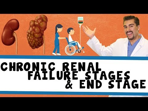 4 Stages of Chronic Renal Failure & ESRF