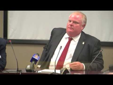 ROB FORD SPEAKS TO SPN MEDIA ON MONDAY JANUARY 20 / 2014