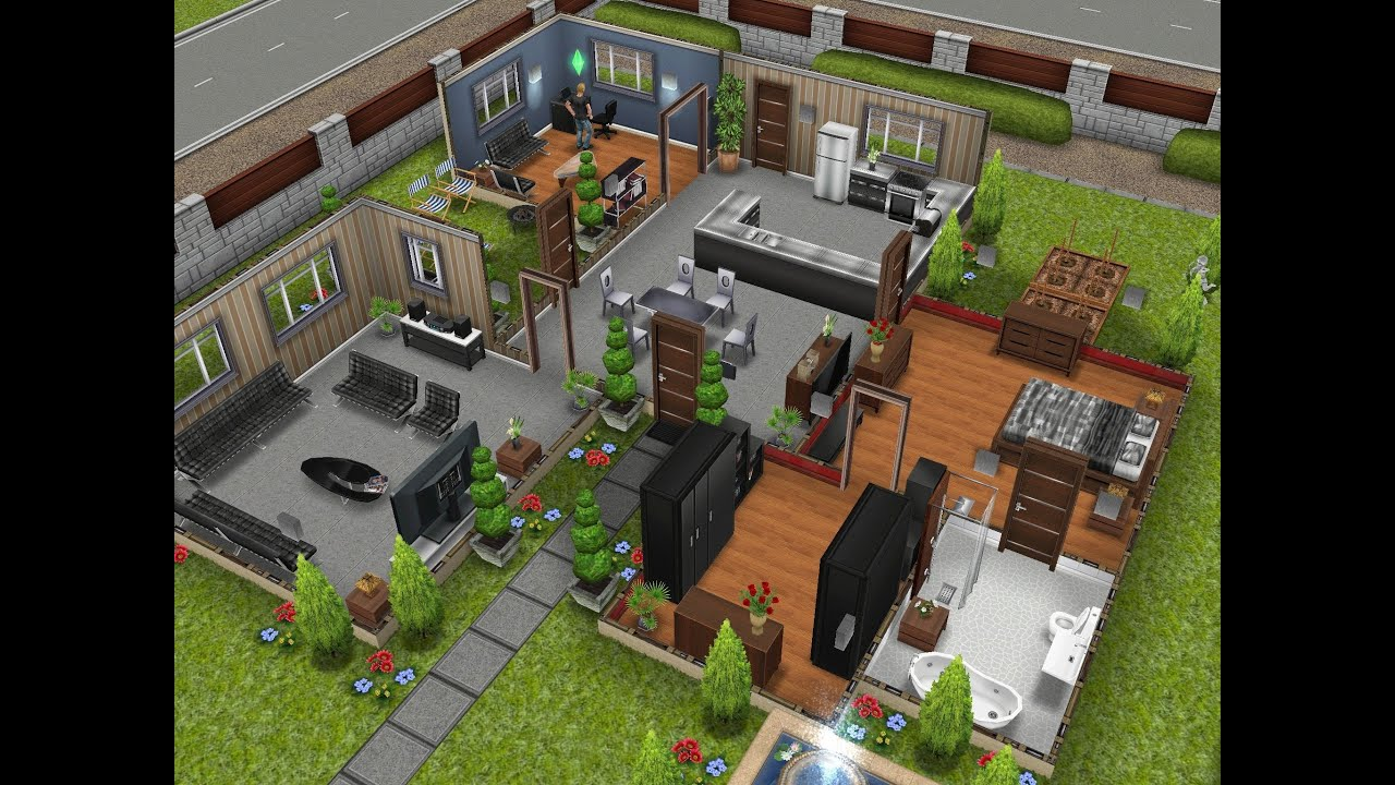 The Sims Freeplay The Designer Home Youtube