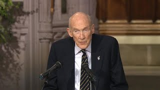 Alan K. Simpson delivers eulogy at George H.W. Bush's funeral