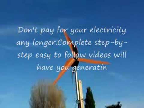 build wind generator solar power