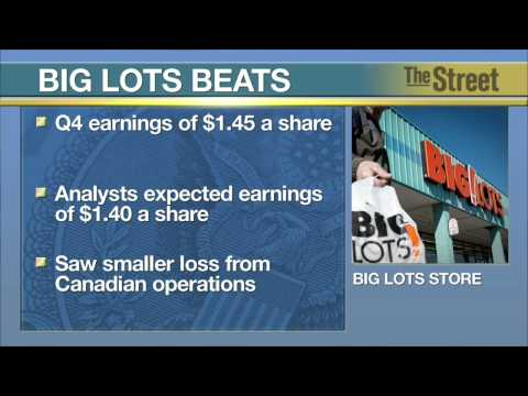 Big Lots Beats Earnings Estimates on Smaller Canadian Loss