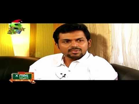 superb tamil speaking malayalam anchor meera kasiraman - chat with Karthi