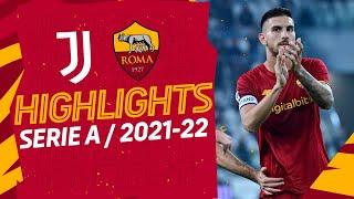 Juventus 1-0 Roma   Serie A Highlights 2021-22