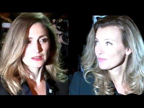 Julie Gayet et Valérie Trierweiler en septembre 2013 au même endroit