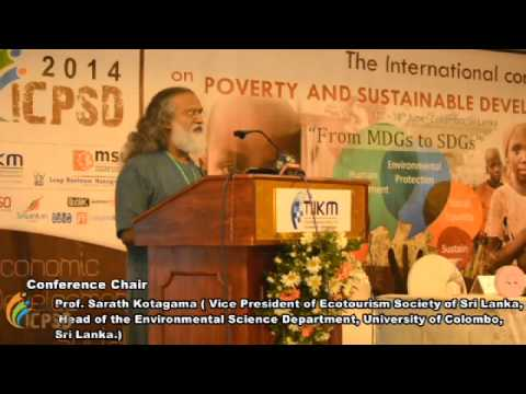 Prof. Sarath Kotagama - Chair of ICPSD 2014