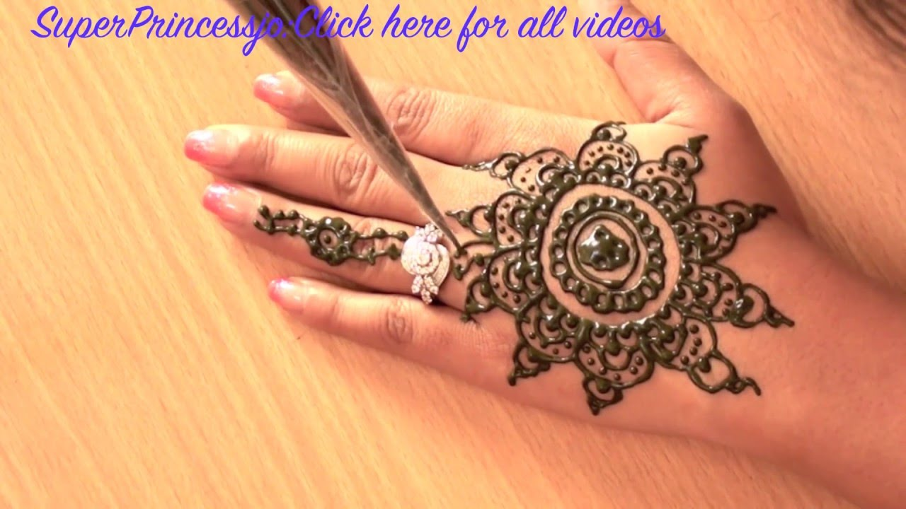 How To Learn Mehndi Designs At Home | Flisol Home
