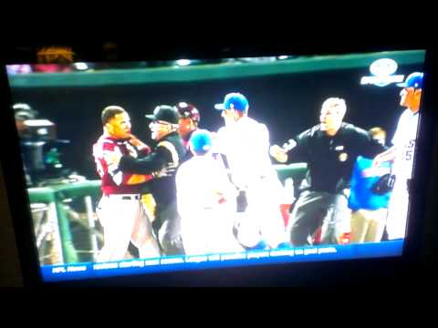 Florida - Florida State baseball fight