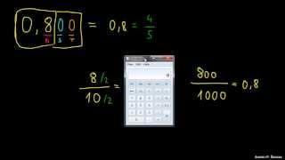 Pretvorba decimalnega števila v ulomek 2