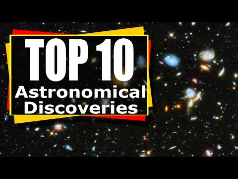 ESO Top 10 Astronomy Discoveries - Top 10 space discoveries