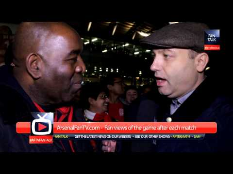 Arsenal 2 Tottenham 0 - Fan Really Rubs It Into the Spuds - ArsenalFanTV.com