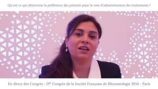 Qu'est-ce qui détermine la préférence des patients pour la voie d'administration des traitements ?