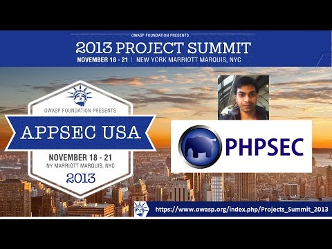 OWASP PHP Security Project by Rahul Chaudhary